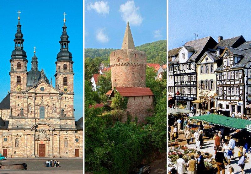 Schönste Städte Hessen