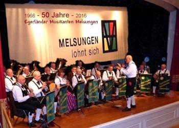 Egerländer Musikanten laden zum Jubiläumskonzert ein. Foto: nh