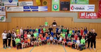 Die Teilnehmer des Handballcamps. Foto: nh