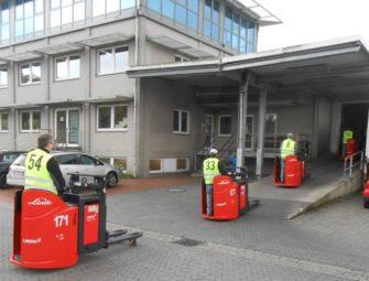 Einfahrt der neuen Fahrermithilfegeräte bei CTL. Foto: nh