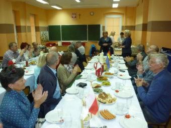 Leckeres Mittagessen in der Schule von Osiek. Foto: D. Werkmeister