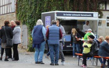400 Besucher kamen zum Erntedankfest auf das Bio-Hofgut Richerode. Foto: nh
