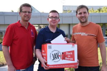 Jörg Lorz, Jean-Marc Sippel und Matthias Ammer. Foto: Martin Sehmisch
