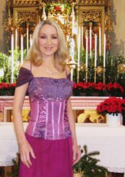 Sängerin Astrid Harzbecker. Foto: nh