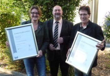 Christina Schöllhorn, Jürgen Altenhof und Michael Weppler (v.l.). Foto: Wolfgang Scholz