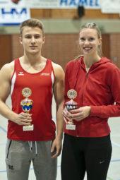 Die Pokalsieger 2016: Jan Ullrich und Katharina Wagner. Foto: nh