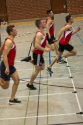 Zielfoto im 50-Meter-Sprint der Männer. Foto: nh