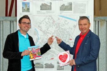 Alexander Dupont und Jochen Boettger von der Stadt Schwalmstadt. Foto: nh