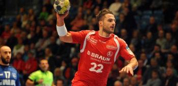 Michael Allendorf, mit 13/4 Treffern bester Torschütze des Spiels. Foto: Hartung