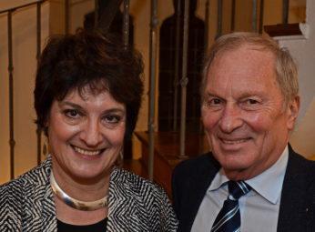 Prof. Nina Tichman und Dr. Ulirch Skubella. Foto: Reinhold Hocke