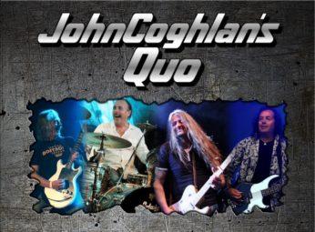 """John Coghlan, der Gründer und langjährige Schlagzeuger der legendären Rockband Status Quo, kommt am 28. April 2017 mit seiner Band """"John Coghlan´ s QUO"""" zu einer Stipvisite in die Schwalm. Foto: Die Schwalm Rockt"""