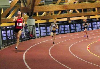 Nach 8,11 Sekunden über 60 Meter holte sich Katharina Wagner noch den Sieg über 400 Meter mit 62,96 Sekunden. Foto: nh