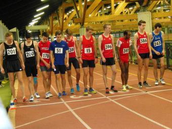 Start zum 1000m-Lauf - Dritter von links Christian Schulz. Foto: nh