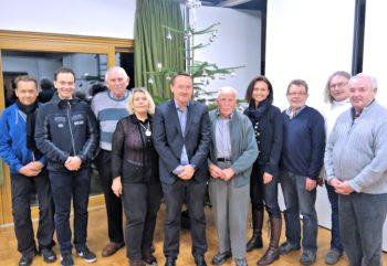 Der neue Vorstand der CDU Treysa. Foto: nh