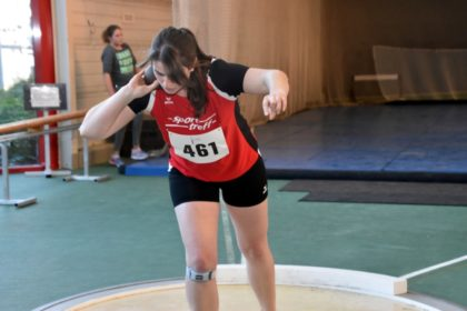 Lisa Arend steigerte sich auf 11,09 Meter. Foto: nh