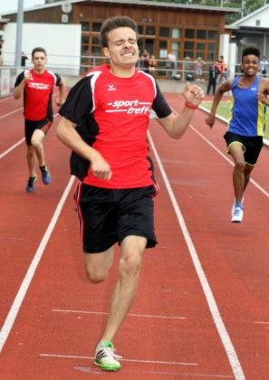 Christian Schulz, dessen kämpferische Qualitäten im 800m-Lauf geschätzt und gefürchtet sind. Foto: Lothar Schattner