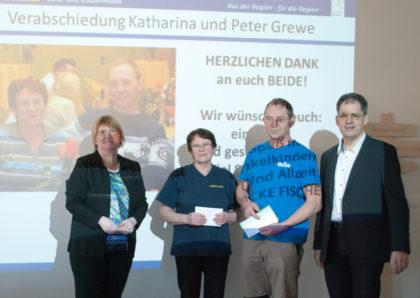 Christina Ehring, Katharina Grewe, Peter Grewe und Ralf Ehring (v.l.). Foto: nh