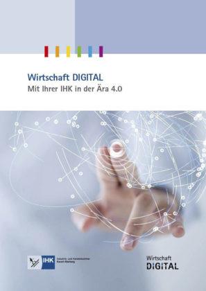 Die Broschüre Wirtschaft Digital, IHK Kassel-Marburg. Quelle: IHK
