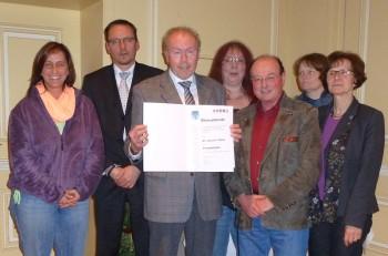 Silke Haase, Markus Boucsein, Dr. Joachim Sturm, Martin Gille, Sabine Stagneth und Reinhild Vogt. Foto: nh