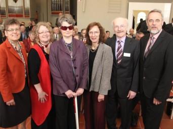 Barbara Eschen, Elke Markmann, Susanne Krahe, Prof. Dr. Anne-Dore Stein, Klaus Dieter Horchem, Peter Göbel-Braun (von links). Foto: Hephata