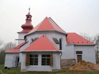 Die Wallfahrtskirche in Quinau heute. Foto: Wolfgang Scholz