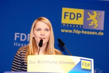 Wiebke Reich wurde erneut in den Landesvorstand der hessischen FDP gewählt. Foto: nh