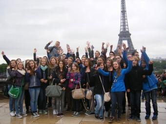 Ein Höhepunkt des Schüleraustauschs war ein Ausflug nach Paris. Foto: nh