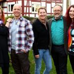 Das Kernensemble Karin George & Friends für die Tour 2013. :Foto: Alexander Wittke