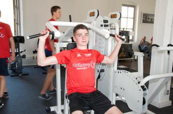 Gut vorbereitet geht der 17-jährige Henri Alter (MT Melsungen) bei den süddeutschen Meisterschaften der U23 in Roth im Speerwerfen an den Start. Foto: Alwin J. Wagner