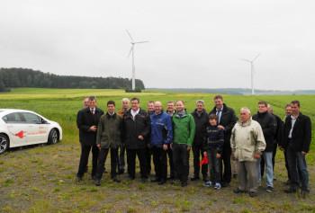 Der Arbeitskreis Umwelt der CDU-Kreistagsfraktion Schwalm-Eder mit Vertretern der E.ON Mitte. Foto: nh