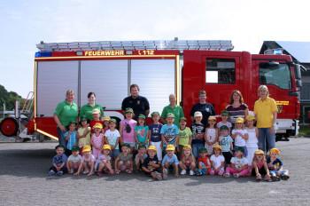 Die Hosenmätze bei der Feuerwehr. Foto: nh