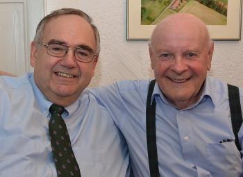 MdB Bernd Siebert und Karl Mihm (v.l.). Foto: Reinhold Hocke