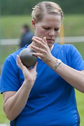 Meike Naumann ist der Garant für zwei Siege des TSV Geismar.  Wer soll die frühere DLV-Spitzenathletin nur annähernd gefährden können? Foto: nh