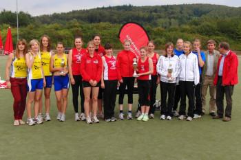 Heißt auch in diesem Jahr bei den Frauen die Reihenfolge  Tuspo Borken vor MT Melsungen und dem TSV Obervorschütz?
