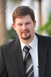 Stefan Markus Giebel ist Bürgermeisterkandidat der SPD für die Kreisstadt. Foto: nh