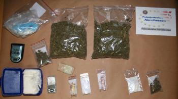 Ein Foto der sichergestellten Drogen. Foto: Polizeipräsidium Nordhessen/obs