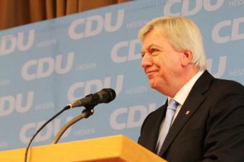 Hessens Ministerpräsident Volker Bouffier. Foto: nh