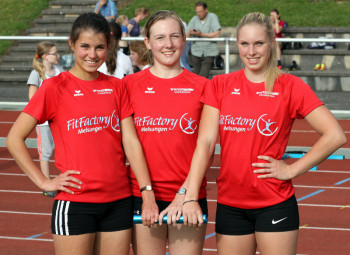 Melsunger Turngemeinde 3 x 800 Meter-Frauen. Foto: Alwin J. Wagner