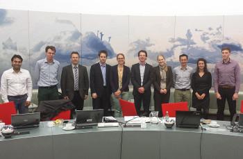 Partner des Projekts BestMOB: Vertreter von sechs Institutionen aus den Niederlanden, Großbritannien, Italien und Deutschland, darunter auch des Regionalmanagements. Foto: Regionalmanagement Nordhessen
