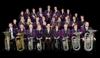 Die Knaresborough Silver Band. Foto: nh