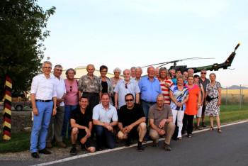 Die CDU-Delegation aus Fritzlar zu Besuch im Grenzmuseum. Foto: nh
