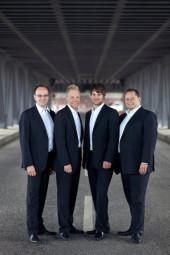 Die musikalische Prägung im Knabenchor legte den Grundstein für das vierköpfige Ensemble Quartonal, das ebenfalls zu einem der vielversprechendsten Nachwuchsensembles der deutschen A Cappella-Landschaft zählt. Foto: Kultursommer Nordhessen