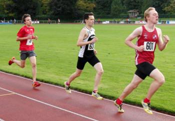 Christian Schulz präsentierte sich in einer hervorragenden Verfassung und hielt im 1000m-Lauf was seine Trainingsleistungen versprachen. Foto: Alwin J. Wagner