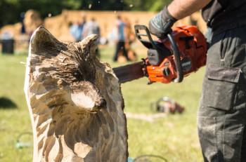 Speedcarving und vieles mehr gibt es auf dem Gudensberger Viehmarkt zu erleben. Foto: nh