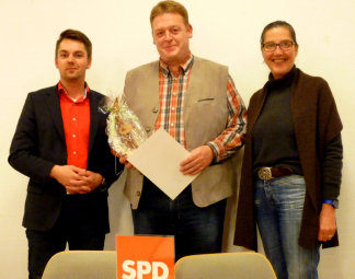 Patrick Gebauer, Guido Sander und Regine Müller (v.l.). Foto: nh
