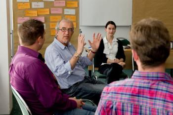 Workshop des Jungen Forums. Foto: Ilona Surrey