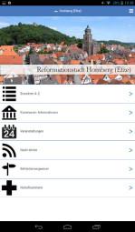 Screenshot: Stadt Homberg