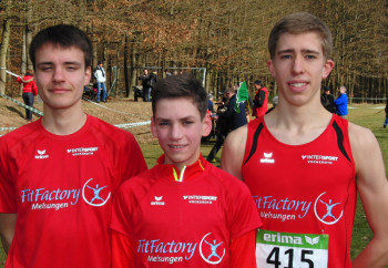 Christian Schulz, Marvin Knaust und Lorenz Funck. Foto: nh