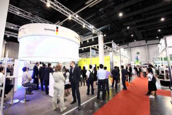 Die Renewable Energy Asia (REA) ist eine jährlich durchgeführte Fachmesse in Bangkok, Thailand. Foto: nh