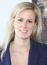 Vor Ort kümmert sich Ann-Catherine Krauss um die Belange der hessischen Unternehmen. Foto: nh